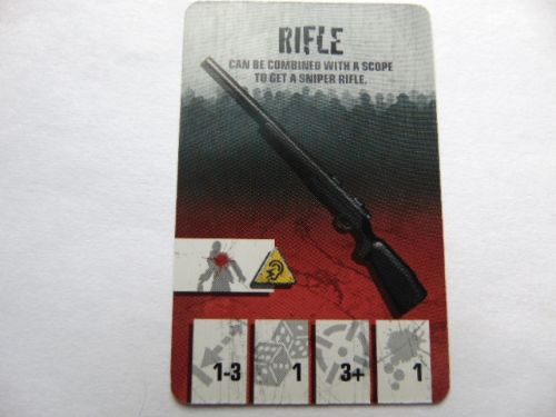 survivor equipment card (rifle)